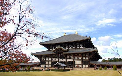 Kết quả hình ảnh cho ngôi chùa Todaiji