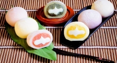 Thưởng thức bánh gạo Mochi Nhật Bản