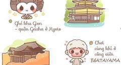 10 điều nên làm khi du lịch Kyoto - Nhật Bản