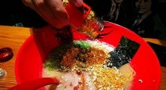 Sang chảnh cùng mì ramen rắc vàng ở Nhật Bản