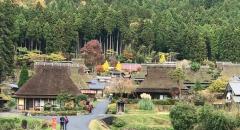Tham quan làng cổ tích ít người biết Miyama Kayabuki