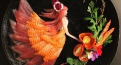 Du lịch Nhật Bản: Thưởng thức sashimi đẹp như tranh 3D