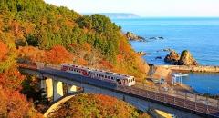 5 chuyến tàu đưa du khách đến với mùa thu cổ tích Nhật Bản