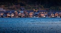 Ghé thăm làng nổi Ine no Funaya đẹp như cổ tích ở Nhật Bản