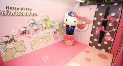 Trải nghiệm tàu Hello Kitty ngộ nghĩnh khi du lịch Nhật Bản